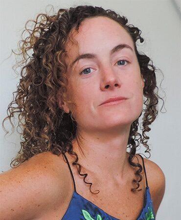 Choreographer Alyssa Martin against a white background
