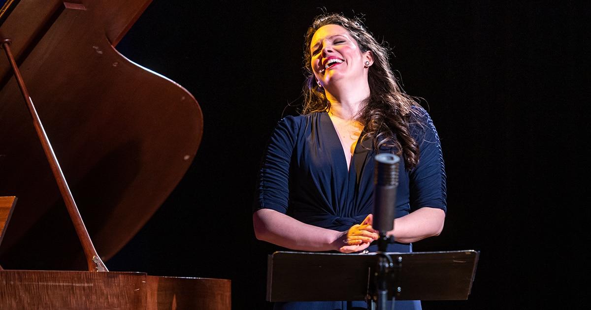 Mireille Asselin laughing